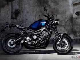 【新車】ヤマハ「XSR900 ABS」のカラーリングが変更 新色はダルパープリッシュブルーメタリックX