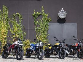 【新車】ドゥカティ新型スクランブラー800シリーズが4/6に発売 ワッペンをプレゼントするフェアも実施