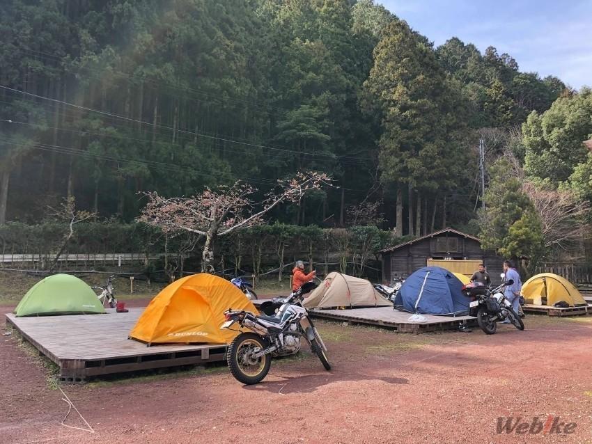 キャンプ オフ 会 山梨