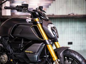ドゥカティ、ミラノ・デザインウィークのためのコンセプト「ディアベル1260 S Materico」を公開