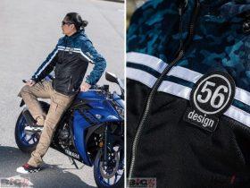 ライダーの経験が息づく、クール+カジュアル 56design「56 S-ライン ハーフメッシュパーカ」