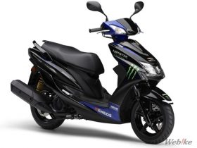 【新車】ヤマハ「CYGNUS-X」台数限定モデルが9/10から発売 MotoGPマシン「YZR-M1」のイメージを再現