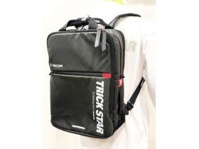 【新製品】ツーリング、通勤、通学、多目的に使用可能なバックパックがトリックスターから発売