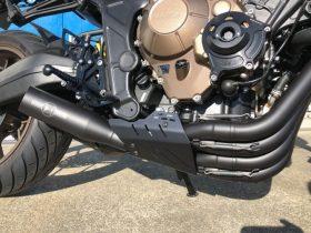 【新製品】モリワキのCB650R用超ショートサイレンサーに合わせるエキゾーストガードが登場!