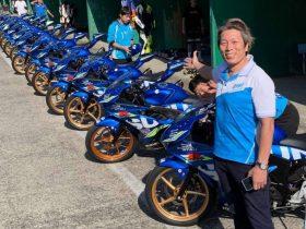 加賀山就臣とコラボしたGSX-R150レンタルマシンレースを開催 モトテックがレーシングデリバリーサービスを開始