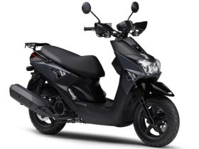 【新車】ヤマハ、原付二種スクーター「BW'S125」の新色を発売 クロスオーバーテイストを強調するグレーを採用