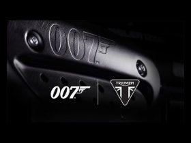 【新車】トライアンフ、ジェームズ・ボンドモデル「Scrambler 1200 Bond Edition」が登場