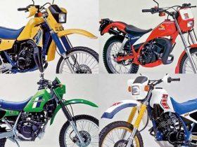 愛と青春のオフロードバイクを振り返る【懐かしの1983?1984年モデル×厳選5台】