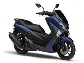 【新車】ヤマハ、「NMAX155 ABS」の新色を9/16に発売 上位モデルと共通のエレガントなマットブルーが登場