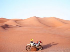 SX200Rで「サハラ砂漠縦断」(1987年?1988年)第1回目
