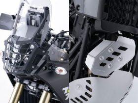 【新製品】テネレ700用、ヘッドライトガードとエキゾーストガードがZETAから登場!