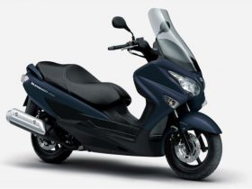 【新車】スズキ、「バーグマン200」2021年モデルを発売 ABSを標準化