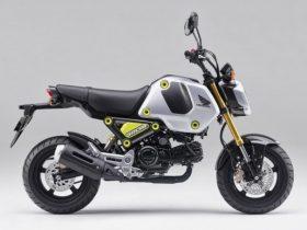 【新車】ホンダ、5速仕様の「グロム」は38万5000円で3/25発売