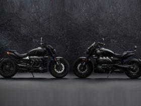 【新車】トライアンフ、世界1,000台限定「ROCKET 3 R BLACK」「ROCKET 3 GT TRIPLE BLACK LIMITED EDITION」を発売