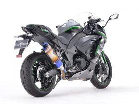【新製品】アールズギア、Ninja 1000SX('20-)用リアルスペック シングル UPタイプマフラーを発売 超軽量&全域ビッグトルク