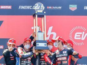 スズキ、2021 FIM世界耐久選手権 第1戦「ル・マン24時間」で優勝
