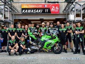 【Webike SRC Kawasaki France TRICKSTAR】EWC第1戦 ルマン24時間耐久で2位表彰台を獲得