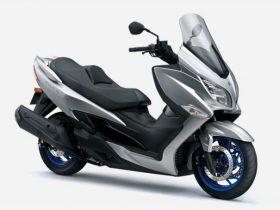 【新車】スズキ、「バーグマン400 ABS」にトラクションコントロールを装備して7/6に発売