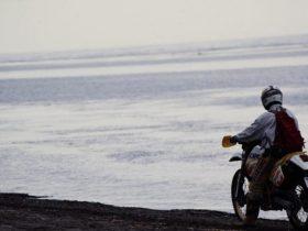 スズキDR250SHで走るサハリン(1991年)第2回目